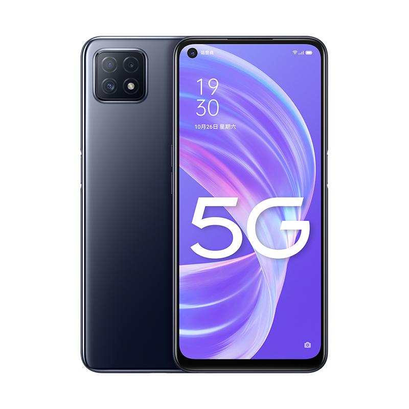 Smartphone de 6.5 FHD+ c/ámara trasera 48MP+8MP+2MP+2MP color Negro Octa-core Android 10 4GB//128GB 5.000 mAh c/ámara frontal 16 MP OPPO A72