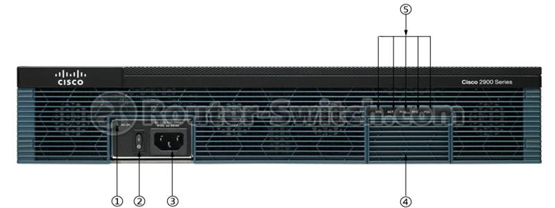 CISCO2921/K9 Front LED