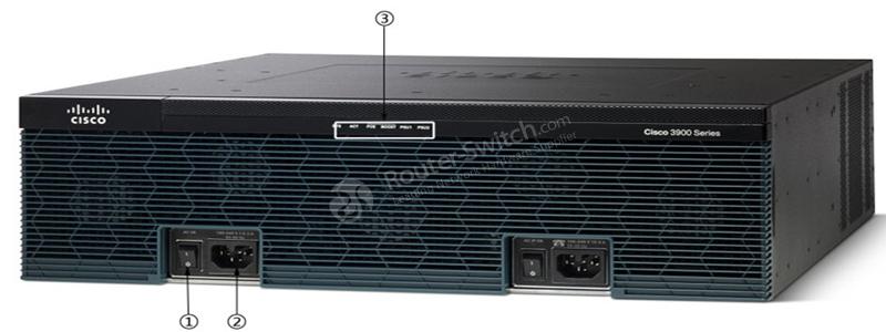 CISCO3925/K9 Front panel