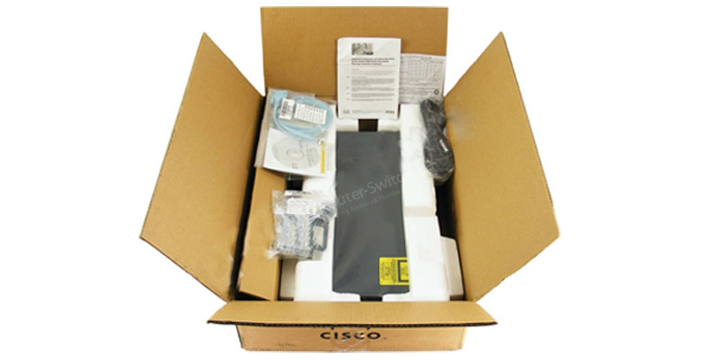 unboxing view of WS-C2960+24TC-S