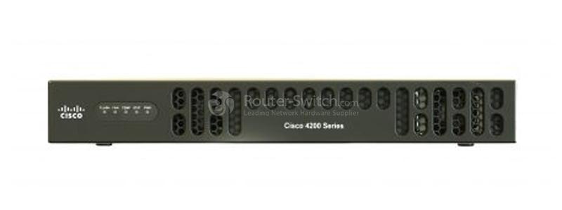 CISCO ISR4221-K9 Front Panel