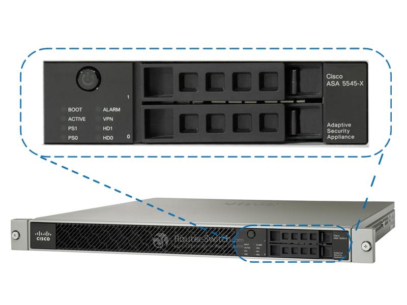 ASA5545-K9 Front Panel