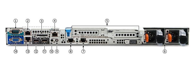 Dell PowerEdge R430 Xeon E5-2603 v4 4GB 1TB SAS Rack Server