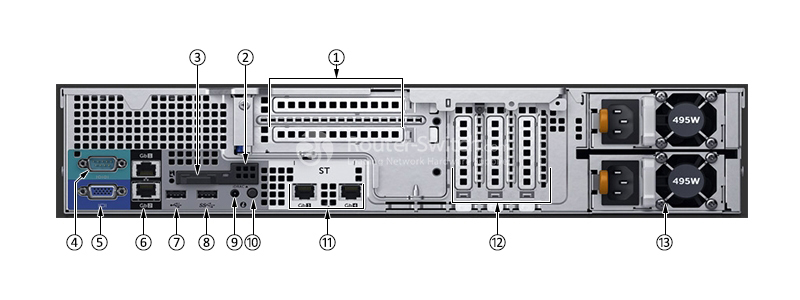 Dell PowerEdge R530 Xeon E5-2640 v4 32GB 2TB SAS H330 Rack Server