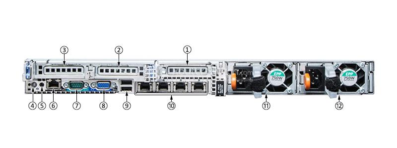 Dell PowerEdge R630 Xeon E5-2630 v4 16GB 1TB SAS H330 Rack Server