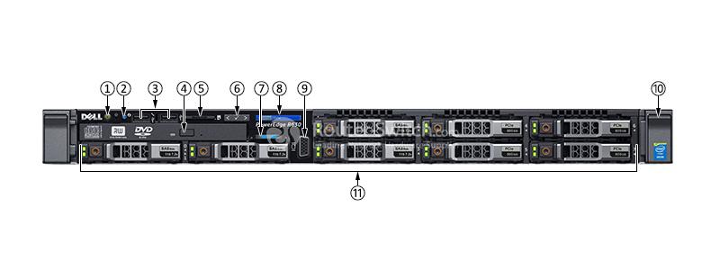 Dell PowerEdge R630 Xeon E5-2640 v4 32GB 2TB SAS H330 Rack Server