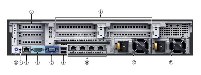 Dell PowerEdge R730 Xeon E5-2620 v4 8GB 2TB SAS H330 Rack Server