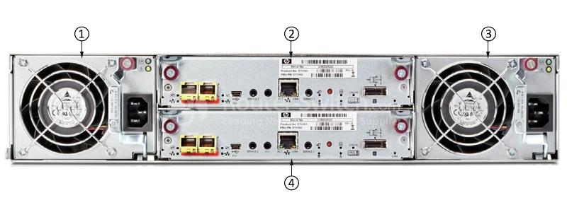 HP MSA2000 Expansion Enclosure 12x 300GB 15K SAS 2x IOM 2x PSU