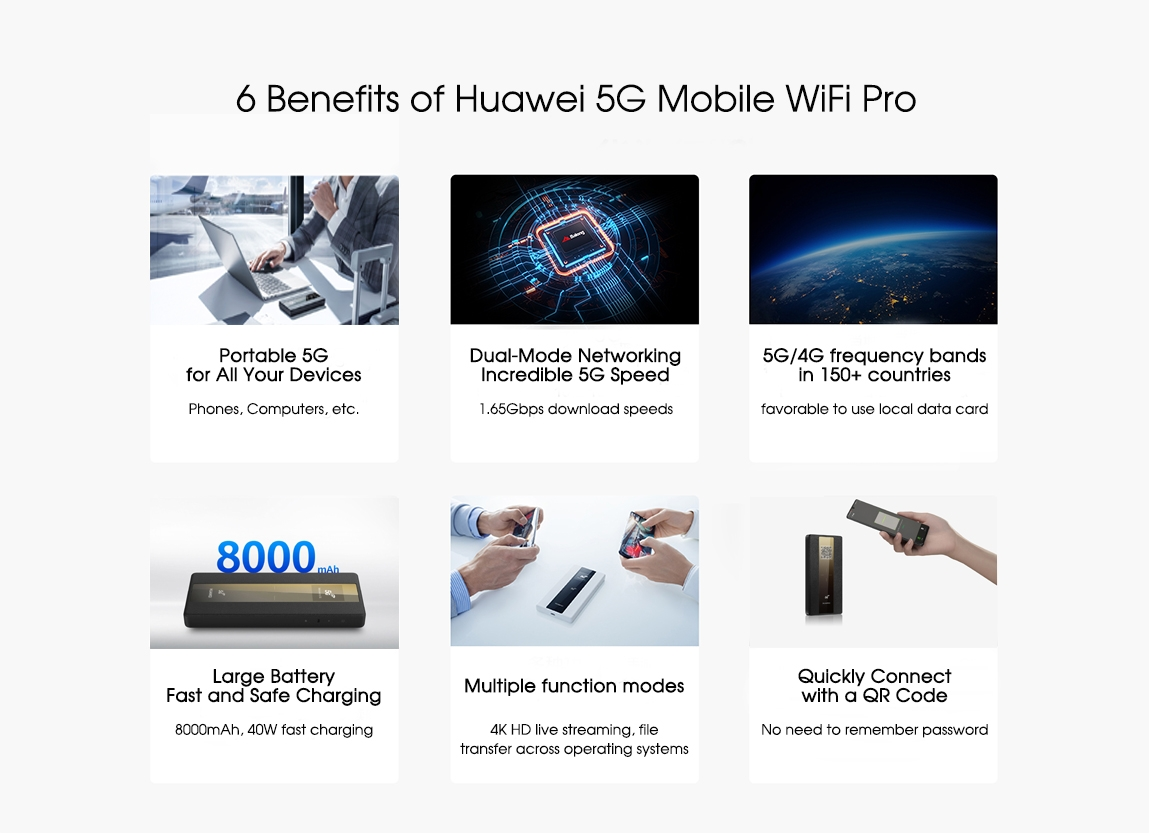 huawei 5g mobile wifi pro-6 benefits
