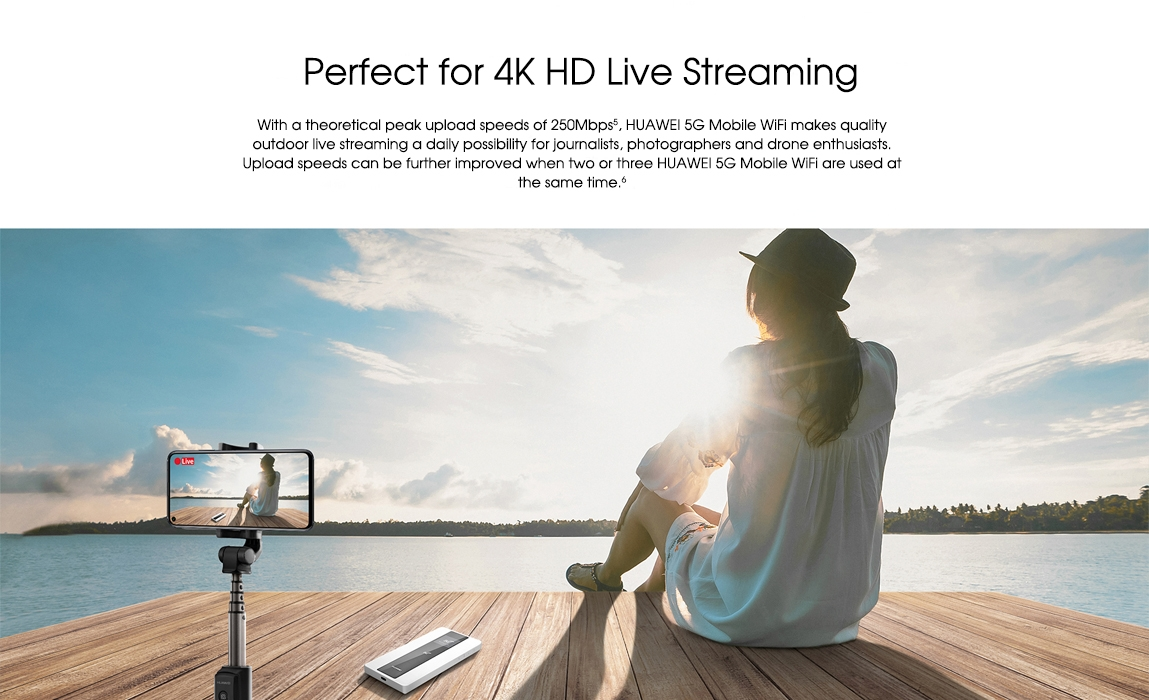 huawei 5g mobile wifi pro-Perfect for 4K HD Live Streaming