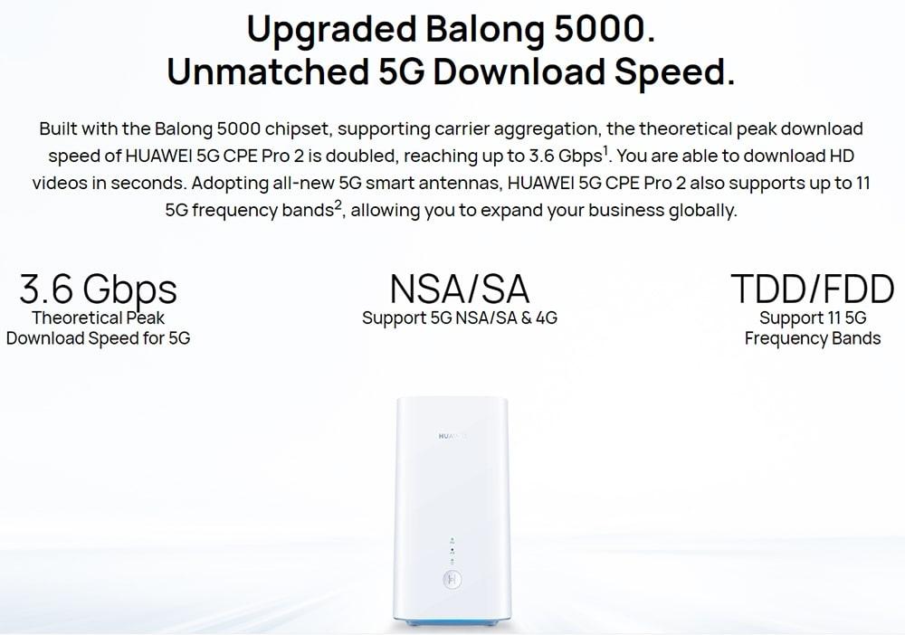 Huawei 5G CPE Pro 2-2
